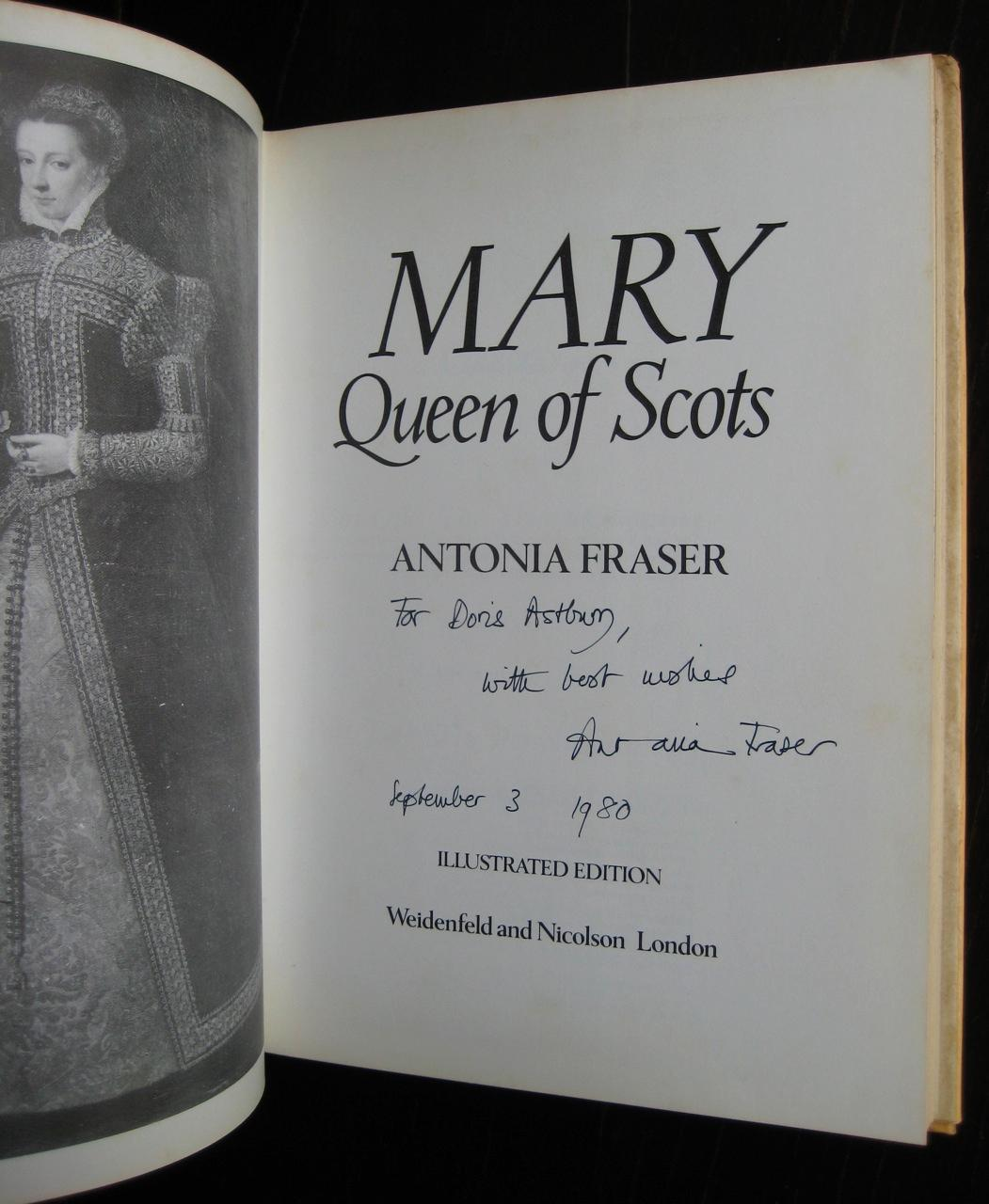 84a2641627 Mary Queen of Scots: [a biography]. (Illustrated edition) by FRASER ...