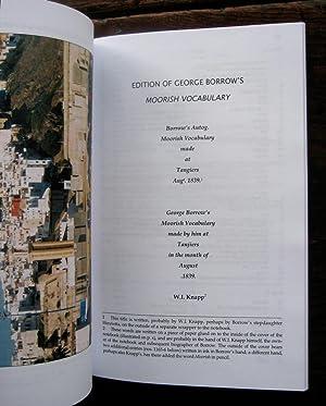 George Borrow's Moorish Vocabulary (Tangiers 1839). Edited: BORROW (George)