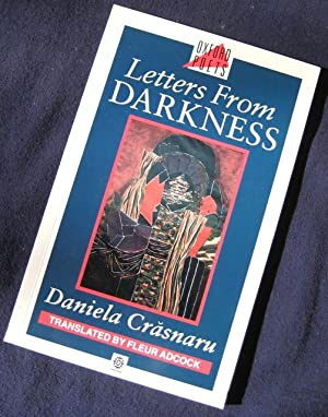 Letters from Darkness: poems. Translated by Fleur: CRASNARU, Daniela