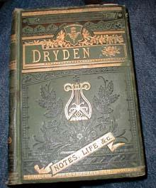 The Poetical Works of John Dryden with Memoir and Introductions to Poems