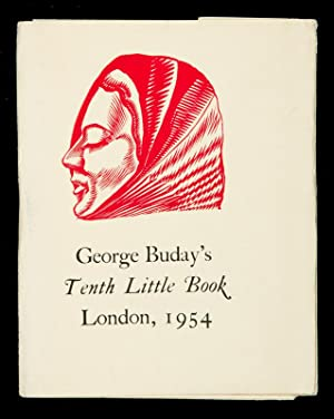 George Buday?s Tenth Little Book : Cries: BUDAY, George
