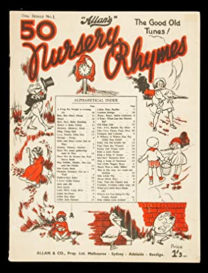 SHEET MUSIC] 50 nursery rhymes : the: ADAMS, Arthur and