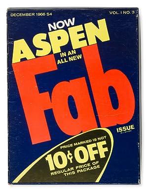 WARHOL] Aspen : the magazine in a: WARHOL, Andy; DALTON,