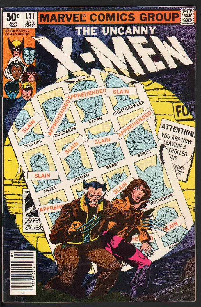 X-MEN #141-HIGH GRADE-DAYS OF FUTURES PAST-1981-MARVEL-WOLVERINE-NM New