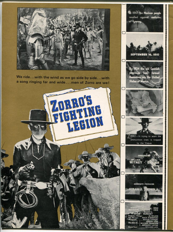 Zorros Fighting Legion 1960s 1939 Republic Serial Photos Reed