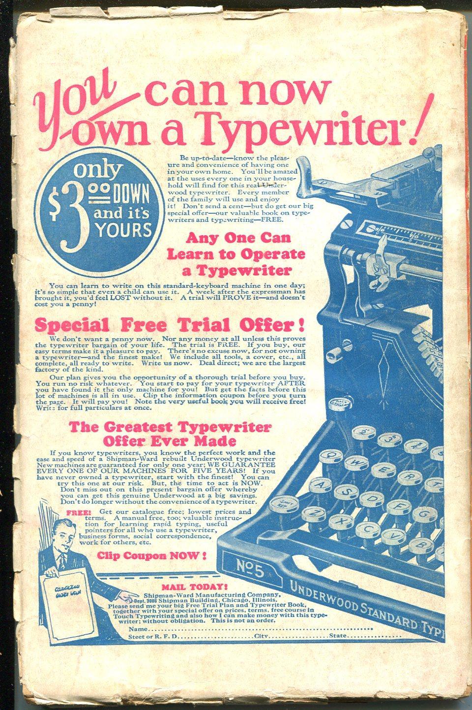 Weird Tales 9/1927-Popular-horror-fantasy-rare pulp ...Rhere Popular Magazine