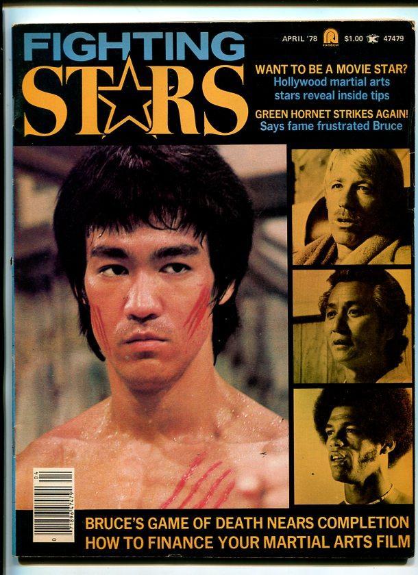 FIGHTING STARS-APRIL 1978-BRUCE LEE-GREEN HORNET-BLACK DRAGON-OSWALD-fn Fine