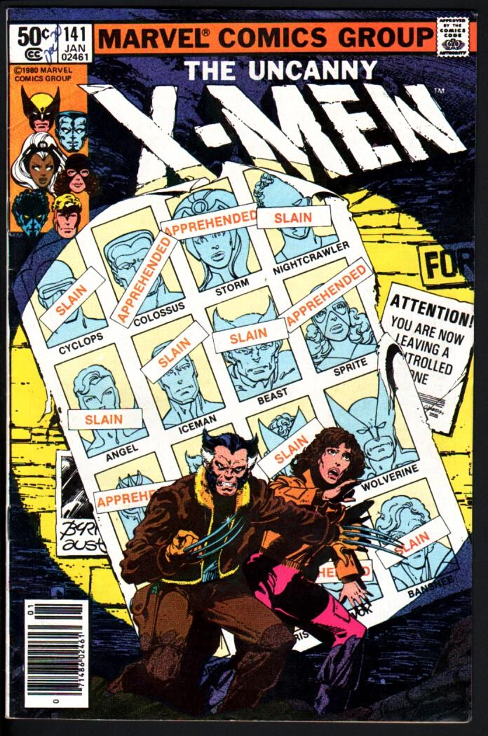 X-MEN #141-HIGH GRADE-DAYS OF FUTURES PAST-1981-MARVEL-WOLVERINE As New