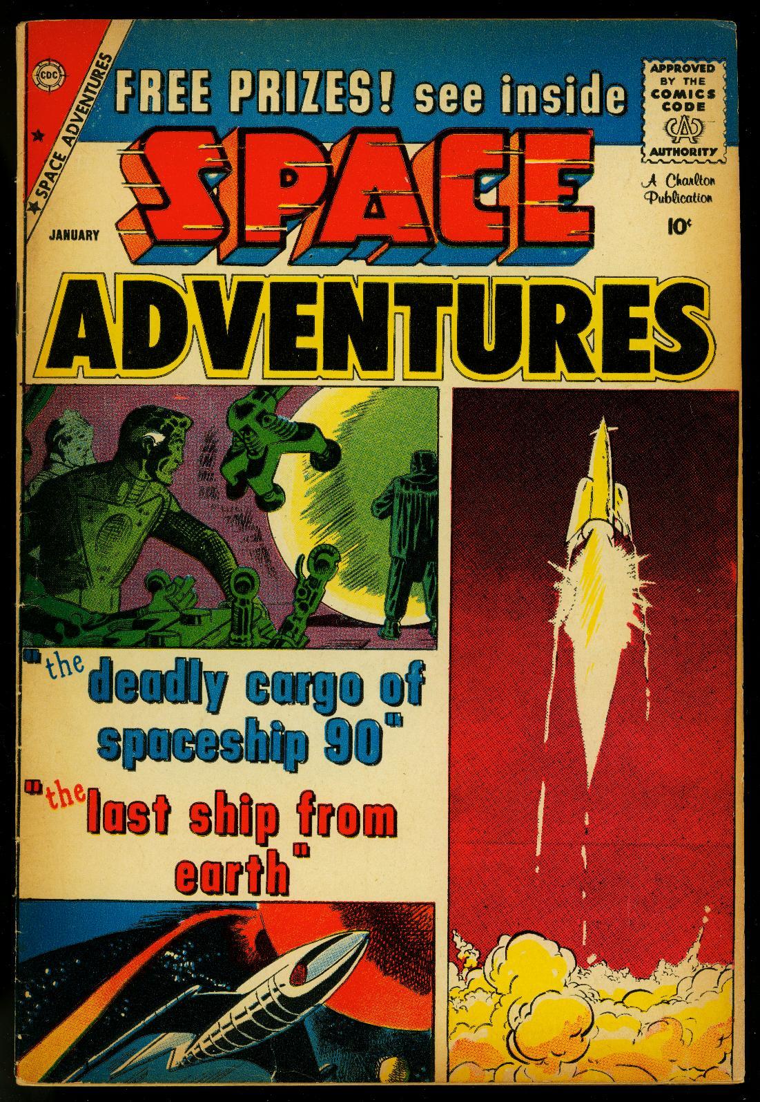 Space Adventures #32 1960- Steve Ditko - Charlton Comics- FN- Fine