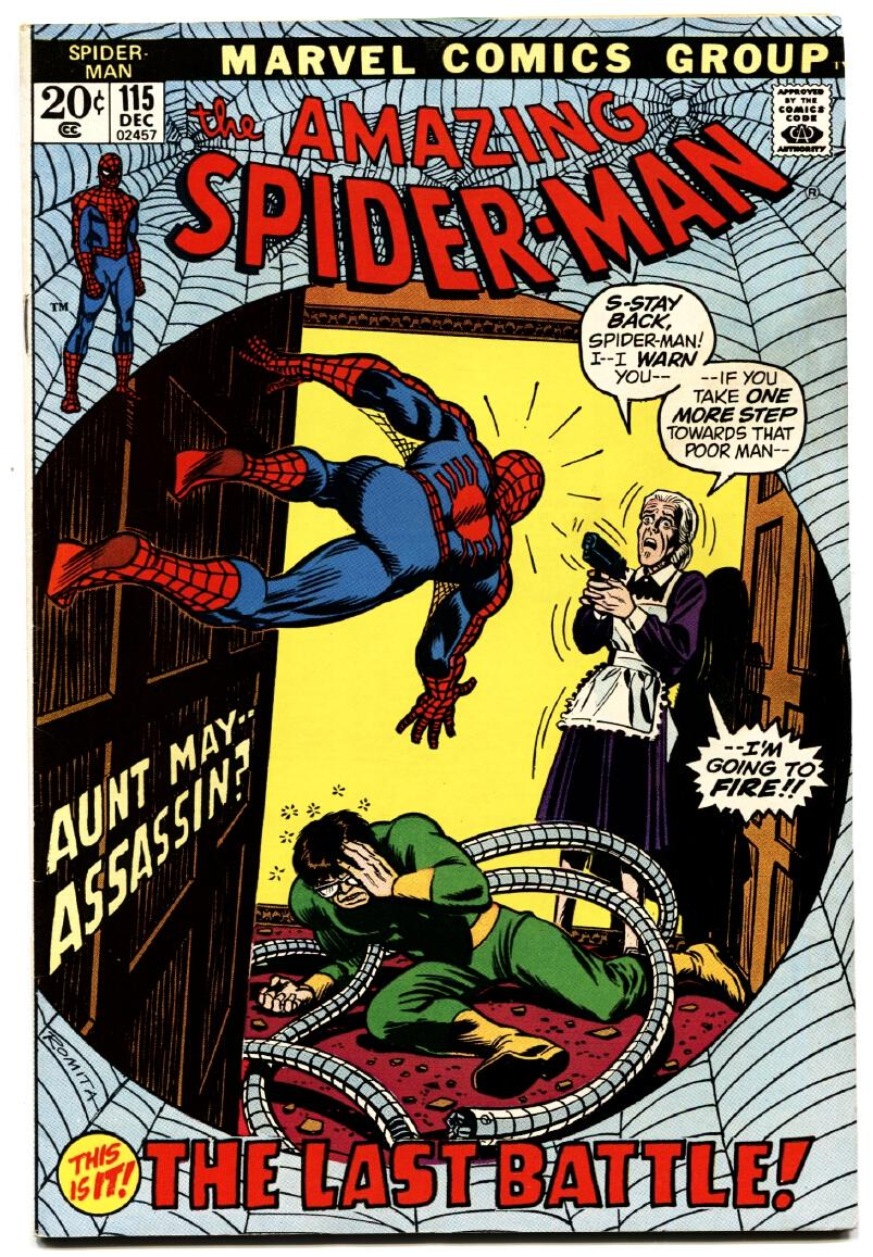AMAZING SPIDER-MAN #115 comic book DOCTOR OCTOPUS MARVEL As New