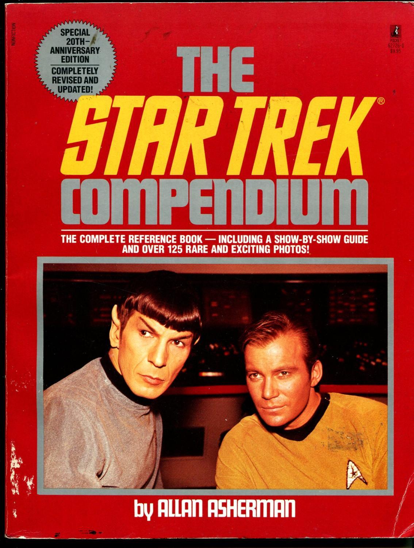 Star Trek Compendium 1986-revised edition-Shatner-Nimoy-VG-