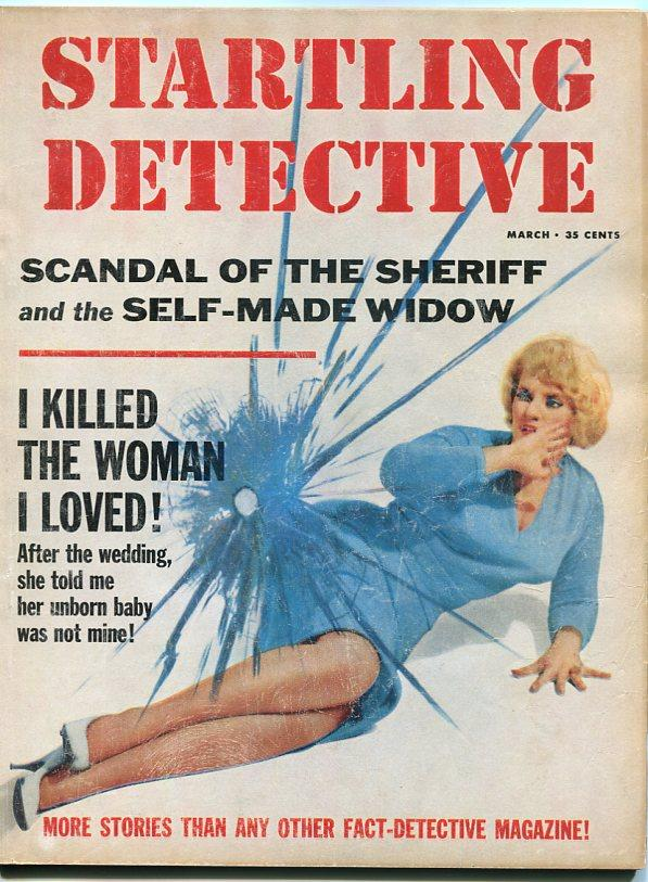 STARTLING DETECTIVES-MARCH-1965-GGA VG Very Good