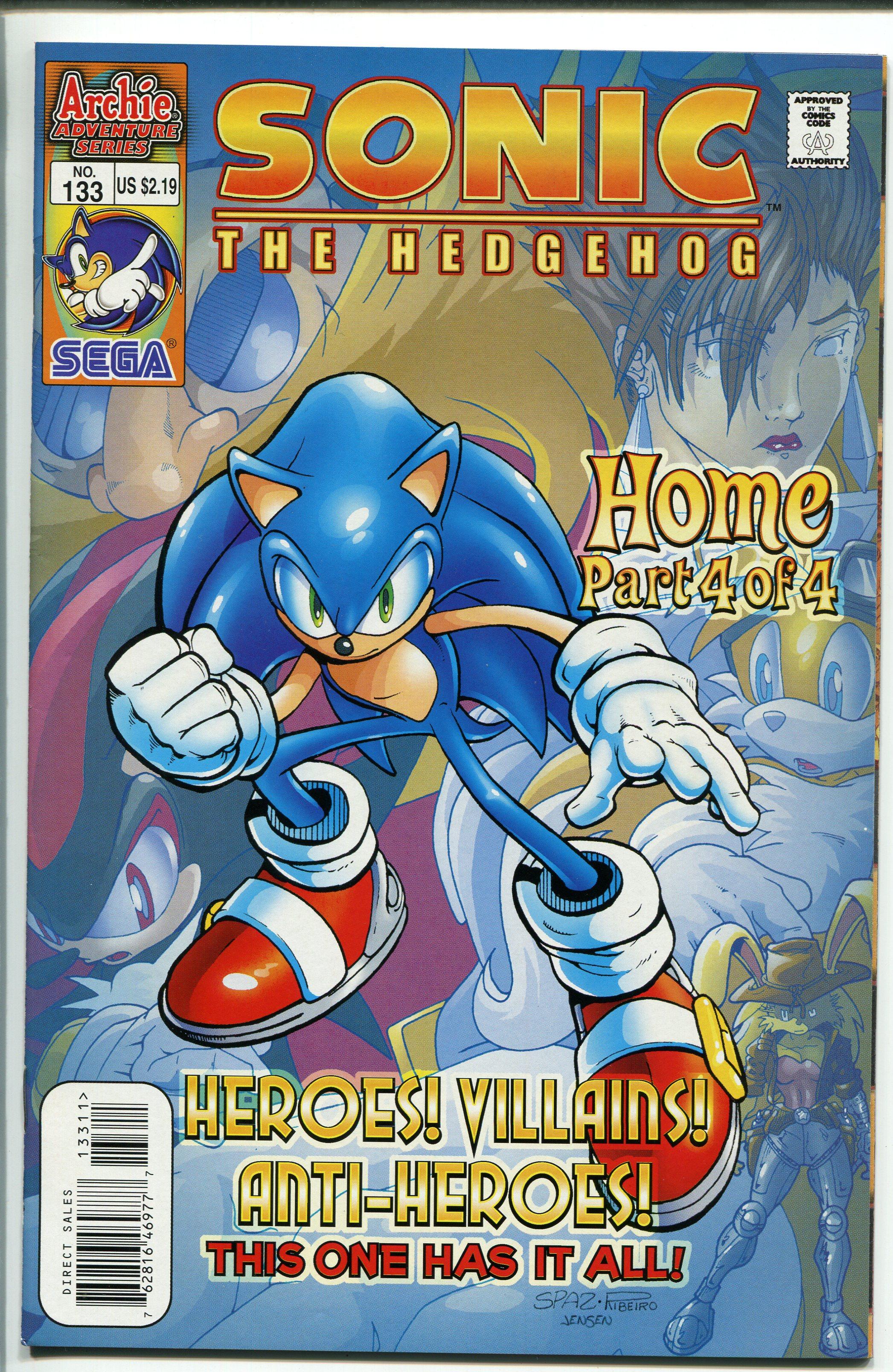 Sonic The Hedgehog 133 2004 Archie Comics Sega Nm 2004 Comic Dta Collectibles