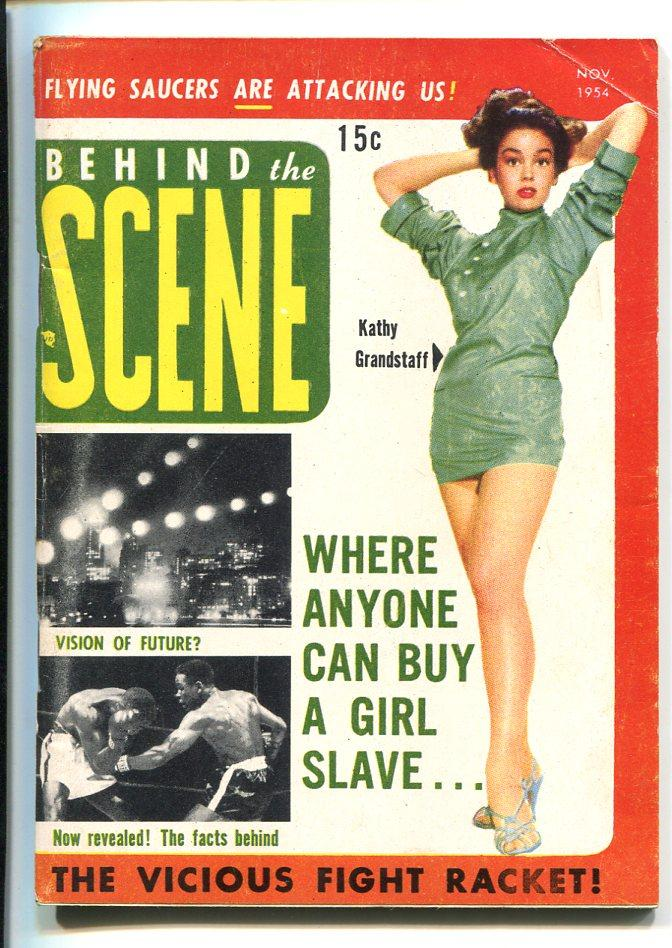BEHIND THE SCENES #1-11/1954-1ST ISSUE-EXPLOITATION-MARILYN-SOUTHERN STATES-fn- Fine