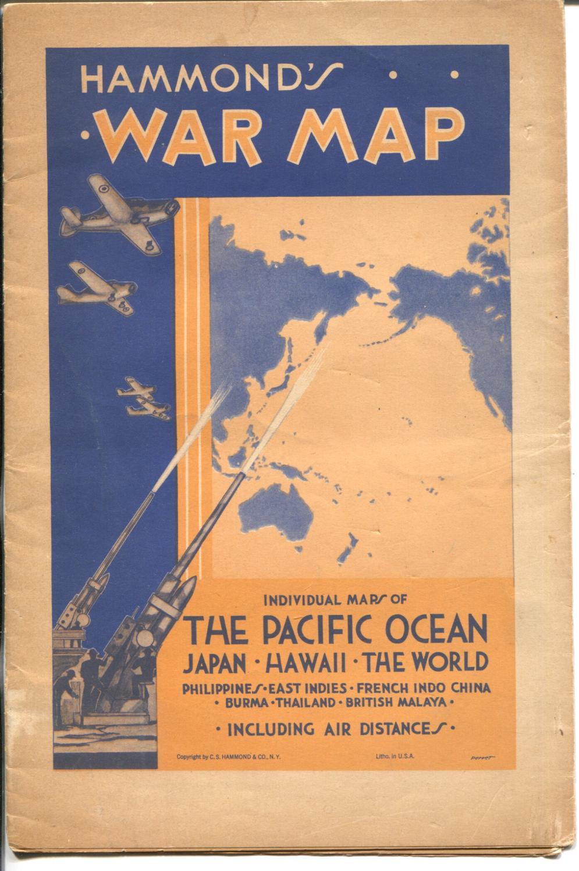 Hammond's War Maps-1940's-WWII