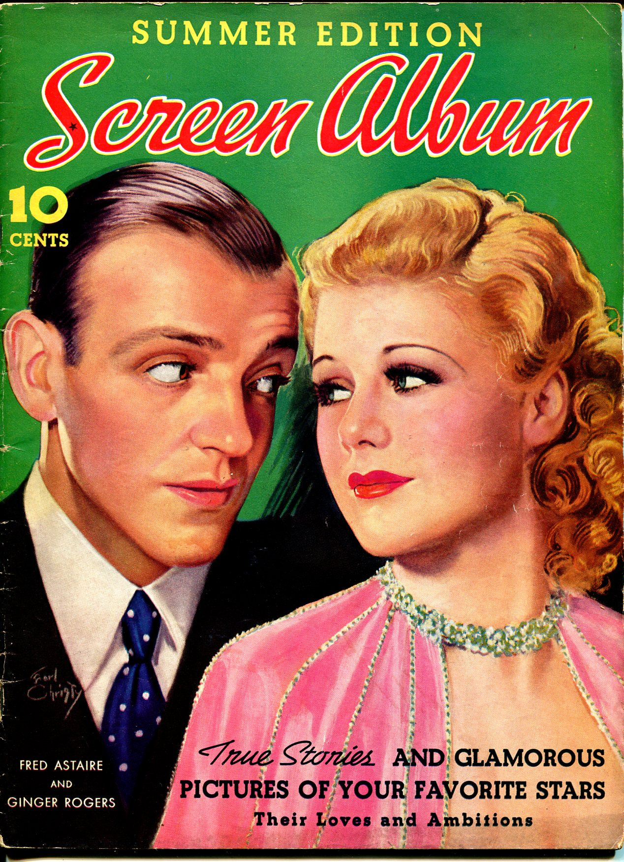 Screen Album-Summer 1937-Fred Astaire-Ginger