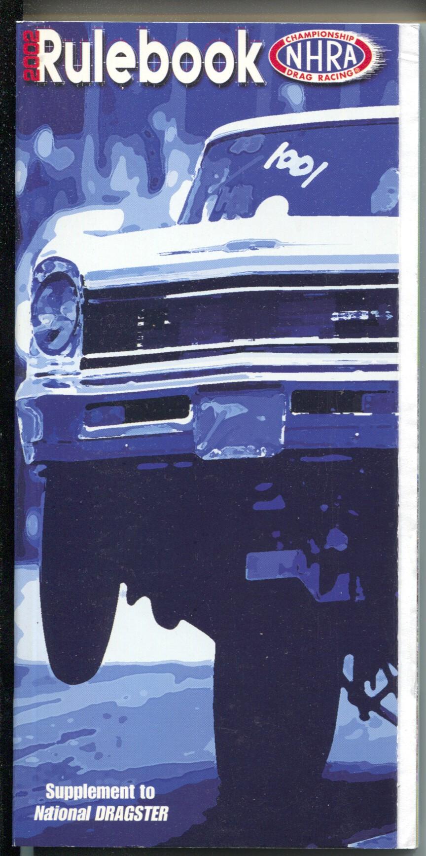 National Hot Rod Association Rule Book Nhra 2002 Rules Diagrams Pix Car Wiring Diagram