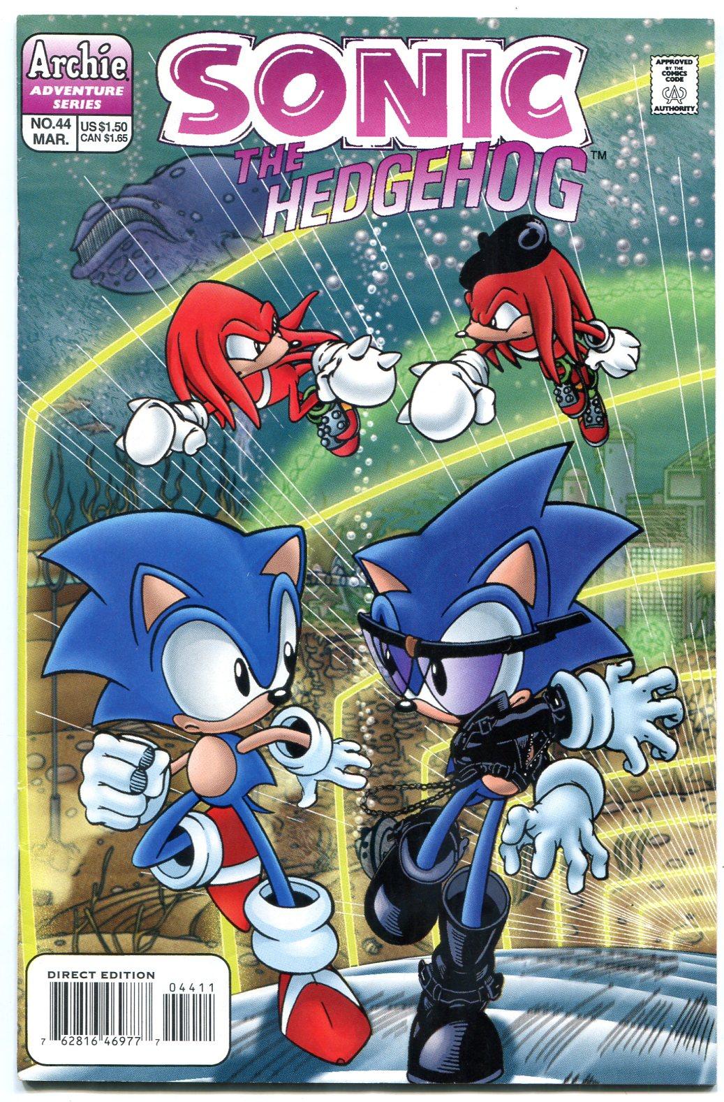 Sonic The Hedgehog 44 1997 Archie Comics Sega 1997 Comic Dta Collectibles
