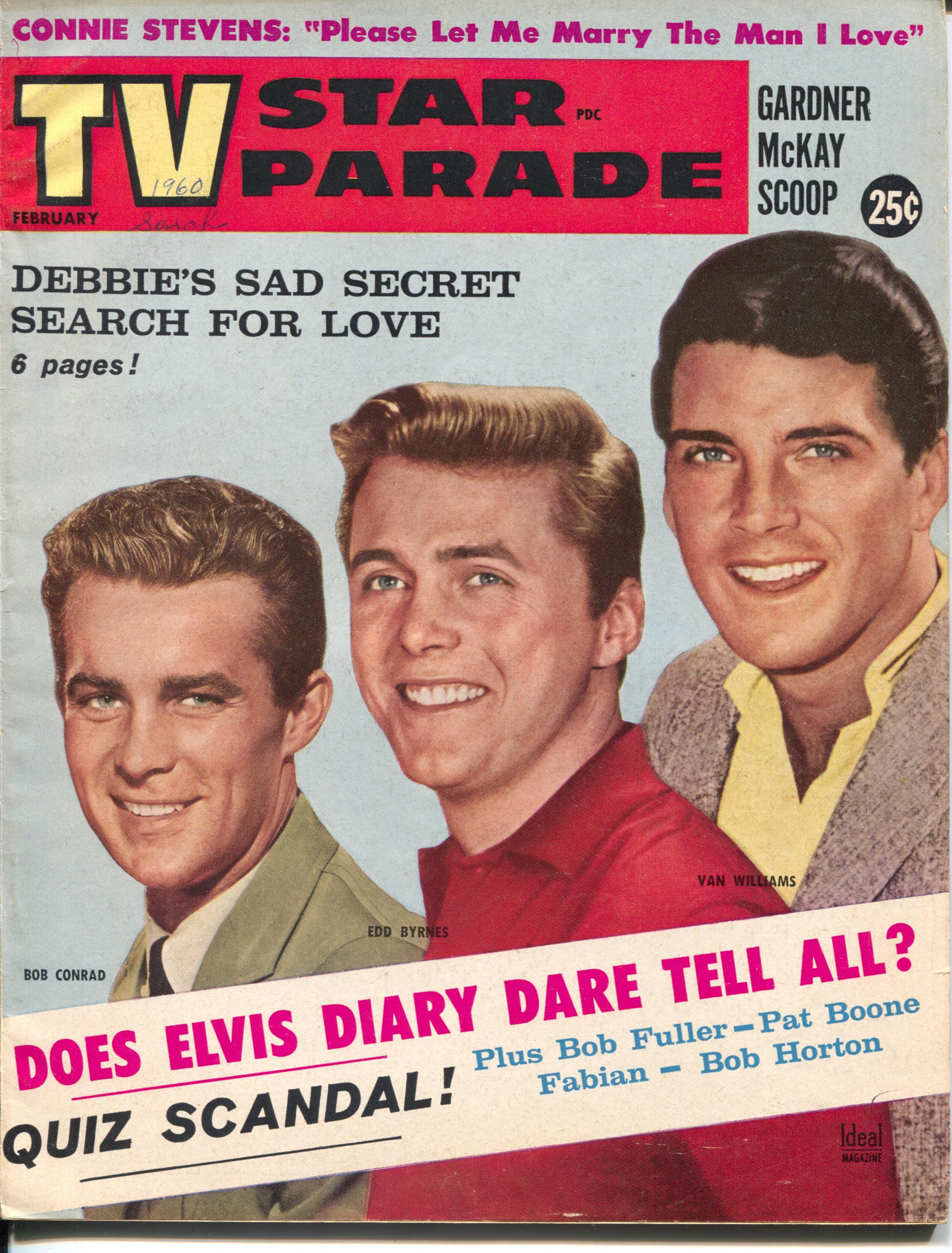 TV Star Parade 2/1960-Ideal-Edd Byrnes-Bob