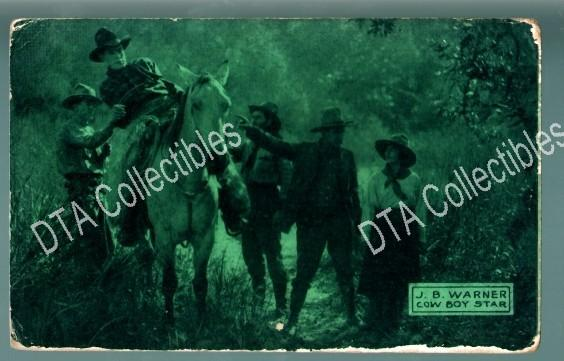 J.b. Warner Silent Film Scene 1920s Arcade Card Fr Fair