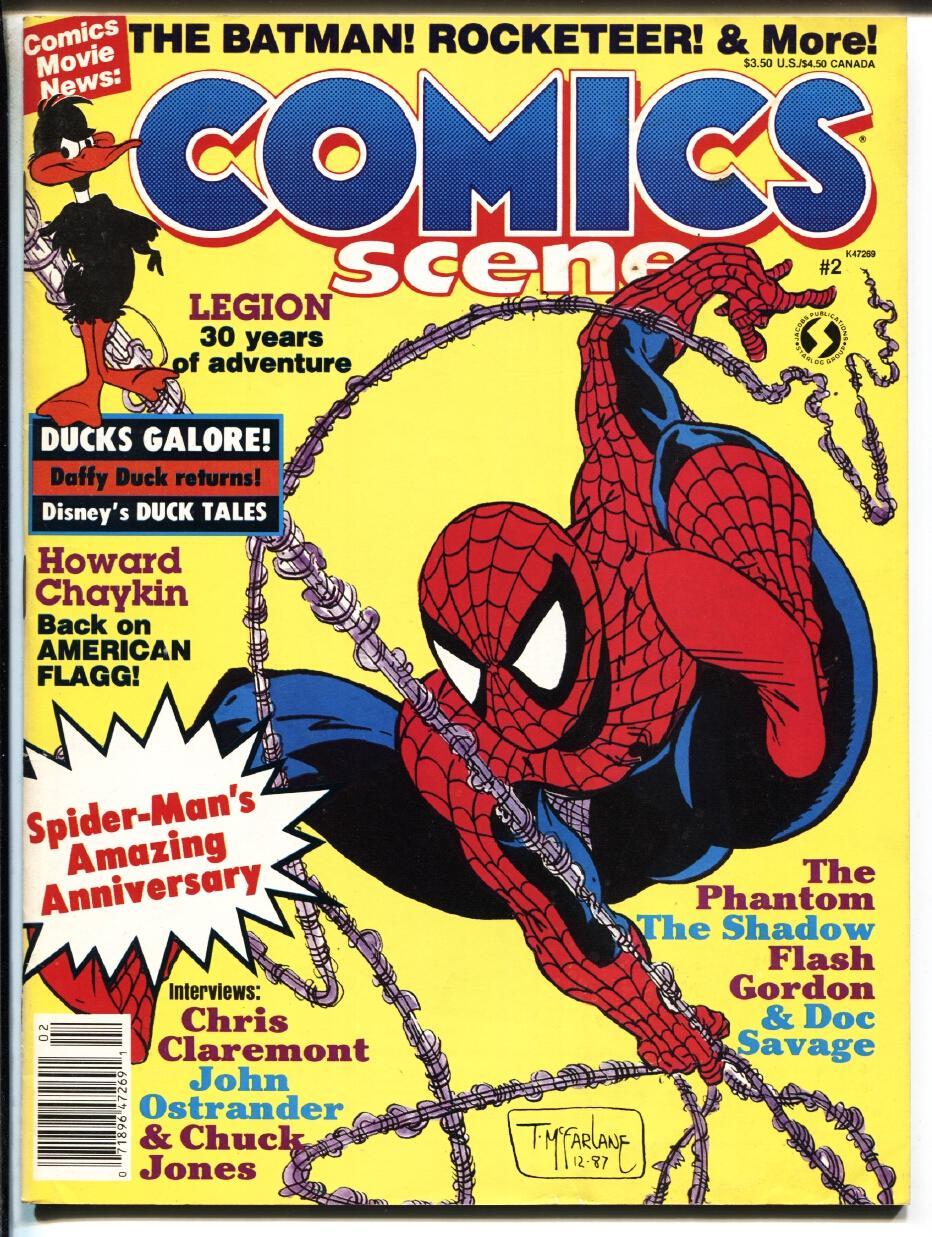 Comics Scene #2 First appearance VENOM