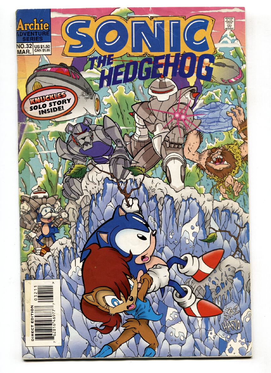 SONIC THE HEDGEHOG #32 1996-ARCHIE