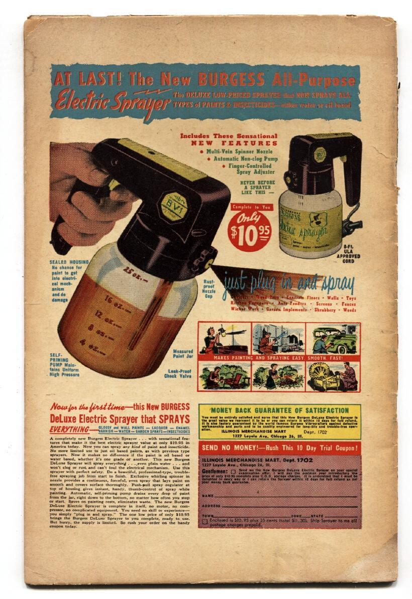 CHAMBER OF CHILLS #9 PCH-1952-HARVEY-BONDAGE