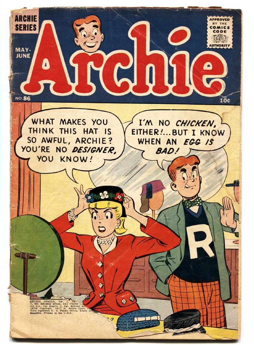 ARCHIE COMICS #86 BETTY & VERONICA comic