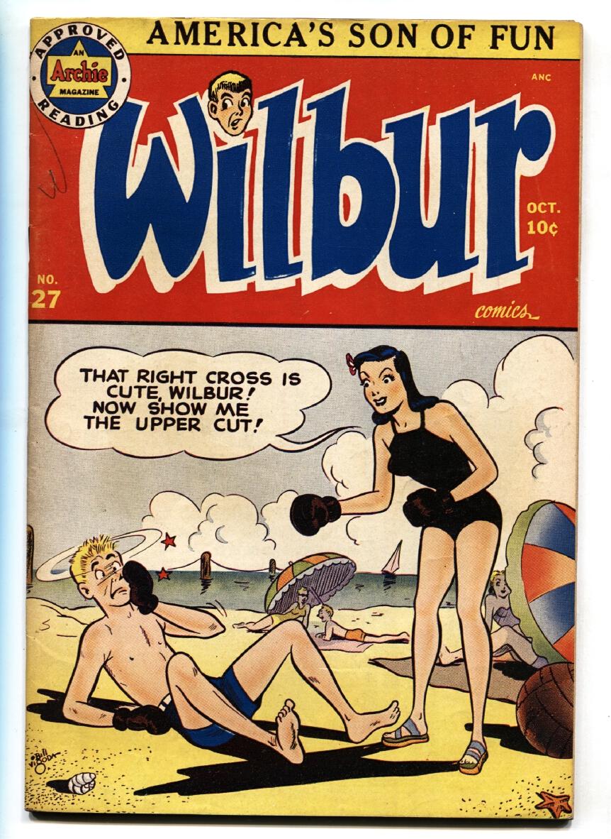 WILBUR_COMICS_#27-BOXING_SWIM_SUIT_COVER-ARCHIE_VF___[As_New]