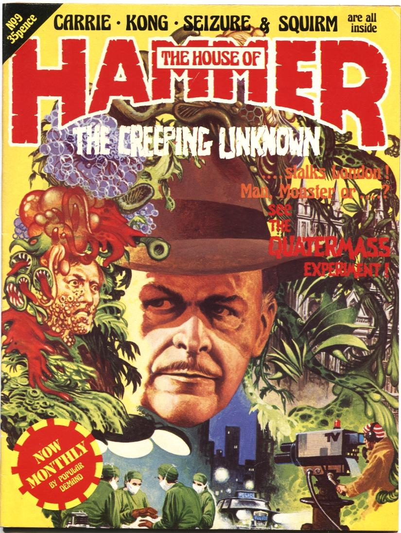 The House Of Hammer house of hammer #9-june 1977-king kong-brian