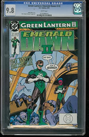 GREEN LANTERN EMERALD LANTERN DAWN II #2-GRADED CGC 9.8 0150386014