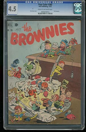 FOUR COLOR #365 1951-BROWNIES-CGC GRADED 4.5 0939370013