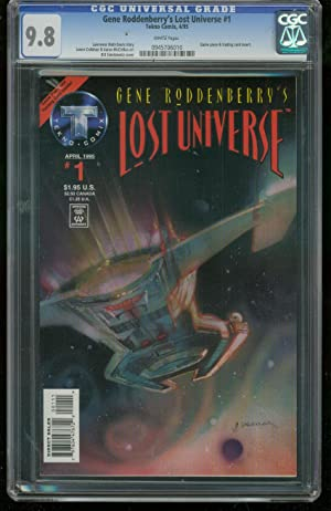 GENE RODENBERRY'S LOST UNIVERSE #1- CGC GRADED 9.8 0945706010