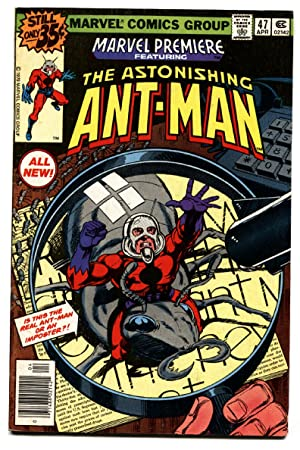 Marvel Premiere #47 First Scott Lang Ant-Man MCU Marvel-Nice Copy-vf
