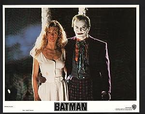 Batman Lobby Card- Jack Nicholson and Kim Basinger.