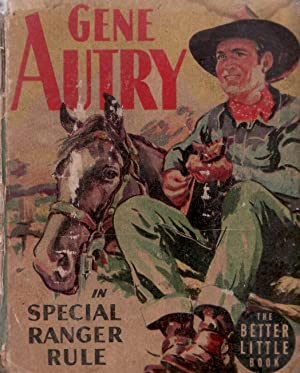SPECIAL RANGER RULE-1945-GENE AUTRY-WHITMAN BLB-#1456 FR