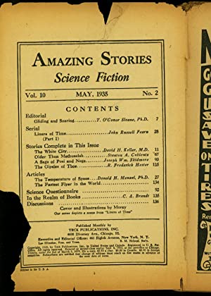 Amazing Stories Pulp May 1935- John Russel