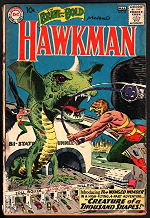 BRAVE AND THE BOLD #34-1961-FIRST APPEARANCE/ORIGIN OF HAWKMAN-JOE KUBERT