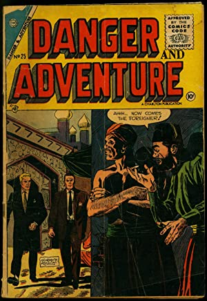Danger and Adventure #25 1955- Mystery and Thrills- Charlton comics VG-