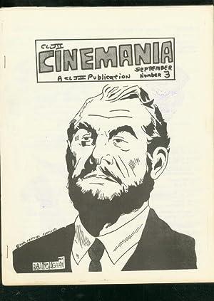 CINEMANIA FANZINE #3-WINT 1967-FLASH GORDON-SHADOW-SF VG/FN