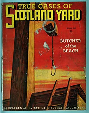 TRUE CASES OF SCOTLAND YARD #1-1937-CRIME & HORROR PULP FR