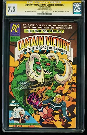 CAPTAIN VICTORY & GALACTIC RANGERS #3 CGC SS 7.5 - 1187290002