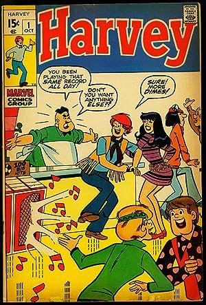 Harvey #1 1970- Marvel Comics- Teen Humor- Soda Shop VG/FN