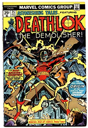 Astonishing Tales #25 1975- 1st Appearance Deathlok -VF- Comic book