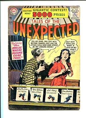TALES OF THE UNEXPECTED #4 1958-DC-VG-