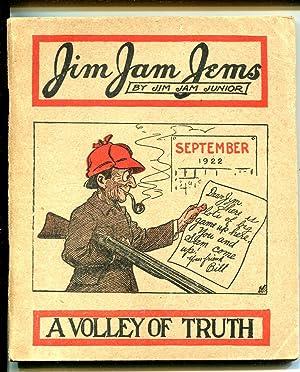 JIM JAM JEMS-09/1922-JOKES-SATIRE-vg+