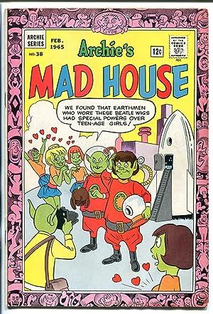 ARCHIE'S MAD HOUSE #38 1965-CAPTAIN SPROCKET-ALIENS-ROCKET-DR NEUTRON-good/vg