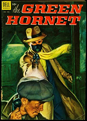 Four Color Comics #496 1953- Green Hornet- Painted cover VG-