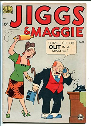 JIGGS AND MAGGIE #19 1951-STANDARD-GEORGE MCMANUS ART-fn