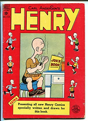 HENRY #5 1949-DELL-CARL ANDERSON-ICE CREAM-vg